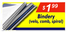 Binding & Other Finishing Services